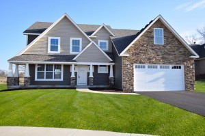 Two-story new construction home