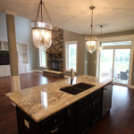 Williamson floorplan with custom light fixtures