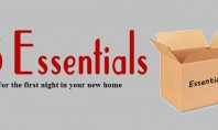 5 Essentials for the first night in your new home