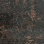 Black and brown granite