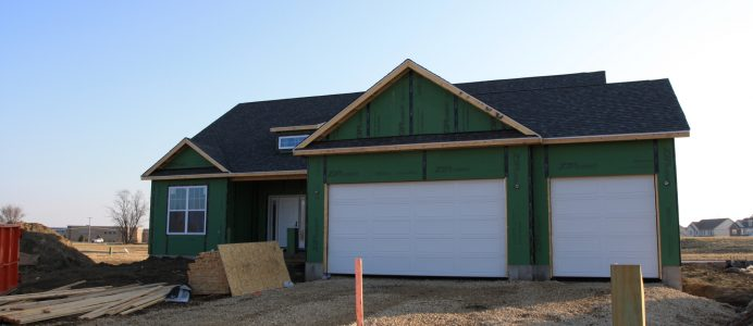ZIP System on ranch home