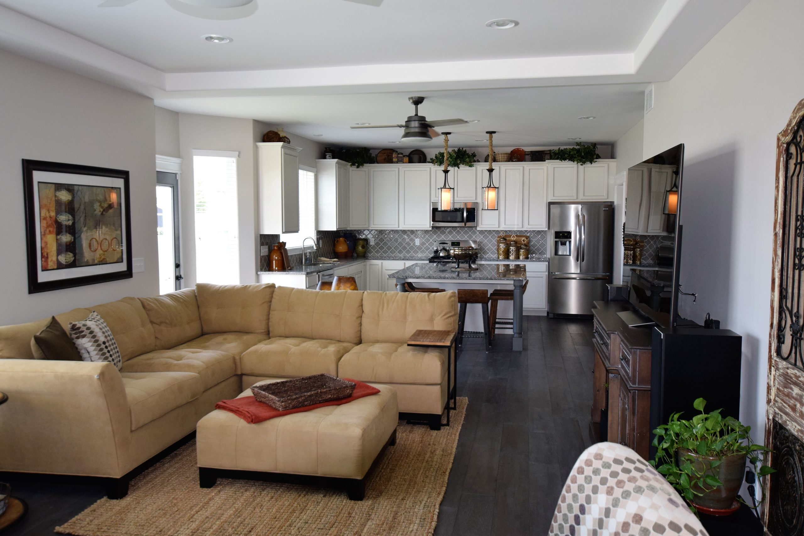 Decorating An Open Concept Floor Plan Silverthorne Homebuilders